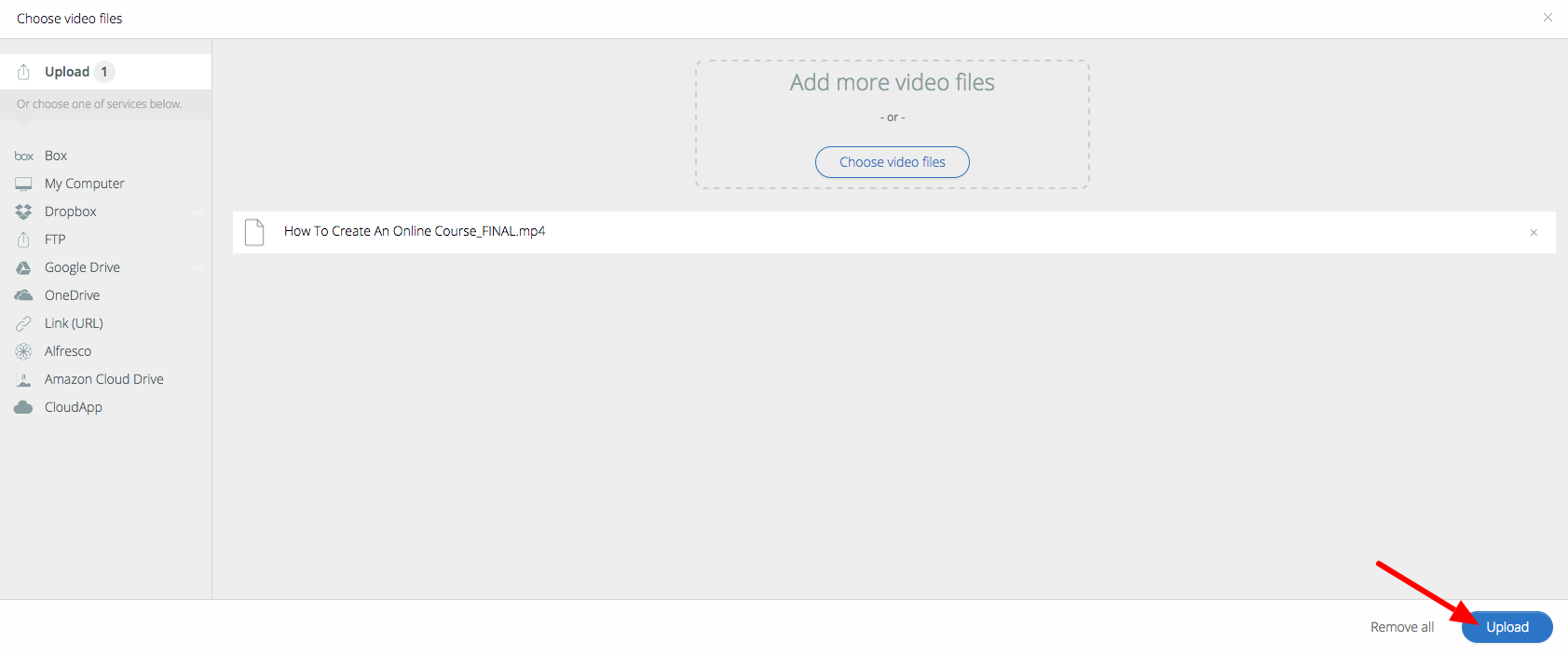 Upload and Manage Videos (Video Library) – Thinkific