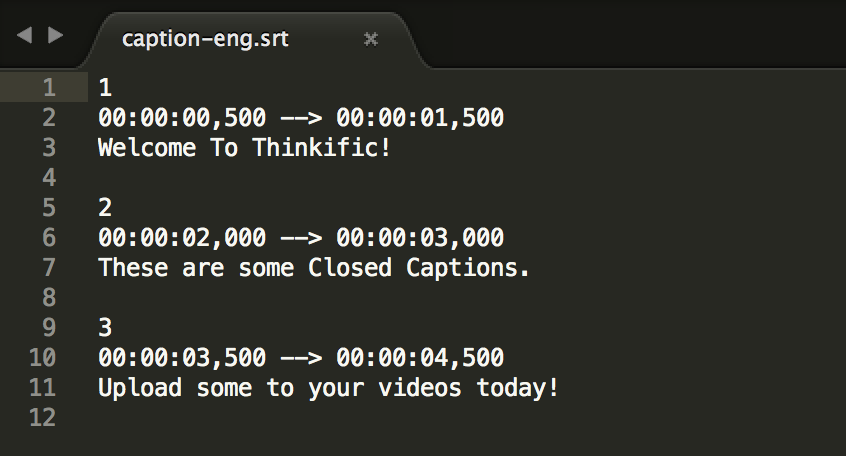 Add Closed Captions to Your Videos – Thinkific