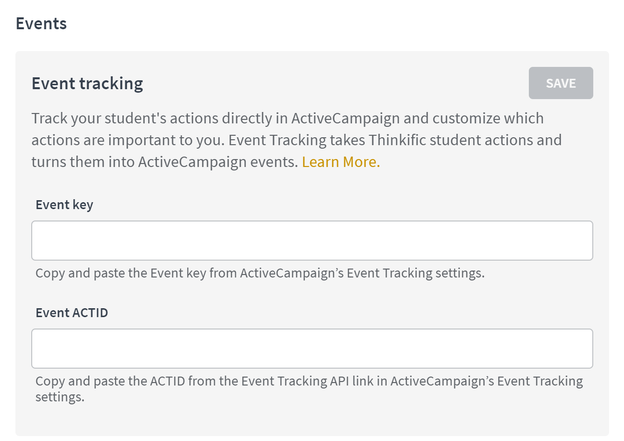 Integrate with ActiveCampaign – Thinkific